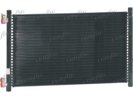 FRIGAIR  0804.2013 Kondensator, Klimaanlage Netzmaße: 488 x 312 x 18 mm, Kältemittel: R 134a