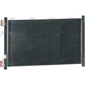 Kondensator, Klimaanlage Netzmaße: 488 x 312 x 18 mm, Kältemittel: R 134a mit OEM-Nummer 46 788 052