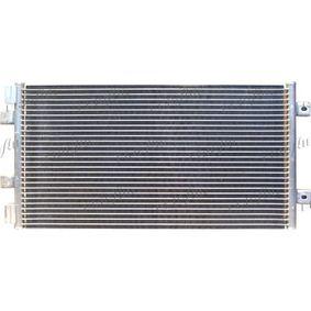 Condenser, air conditioning 0804.2054 PUNTO (188) 1.2 16V 80 MY 2002