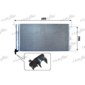 Condenser, air conditioning 0804.2059 PANDA (169) 1.2 MY 2003