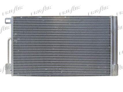 FRIGAIR  0804.2061 Kondensator, Klimaanlage Netzmaße: 560 x 350 x 15 mm, Kältemittel: R 134a