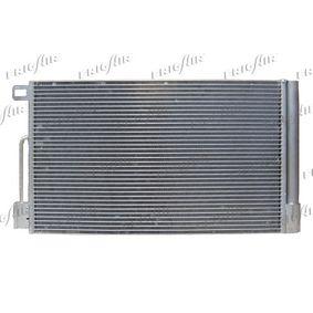 Kondensator, Klimaanlage Netzmaße: 560 x 350 x 15 mm, Kältemittel: R 134a mit OEM-Nummer 13400150
