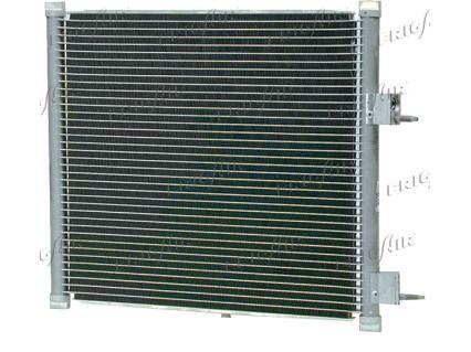 FRIGAIR  0805.3015 Kondensator, Klimaanlage Netzmaße: 400 x 382 x 20 mm, Kältemittel: R 134a