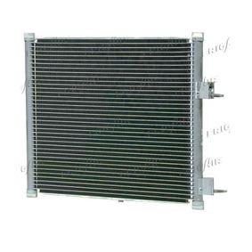 Kondensator, Klimaanlage Netzmaße: 400 x 382 x 20 mm, Kältemittel: R 134a mit OEM-Nummer 1334 284
