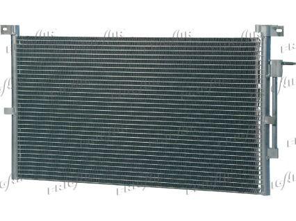 FRIGAIR  0805.3018 Kondensator, Klimaanlage Netzmaße: 628 x 362 x 20 mm, Kältemittel: R 134a