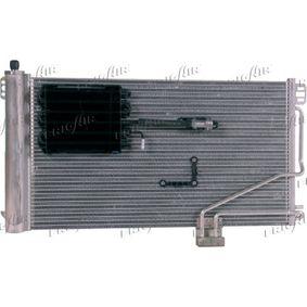 Kondensator, Klimaanlage Netzmaße: 640 x 375 x 16 mm, Kältemittel: R 134a mit OEM-Nummer A203 500 1354