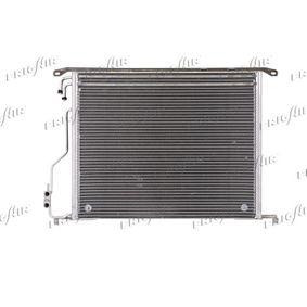 Kondensator, Klimaanlage Netzmaße: 580 x 480 x 16 mm, Kältemittel: R 134a mit OEM-Nummer 220 500 0054