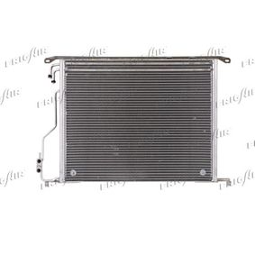 Kondensator, Klimaanlage Netzmaße: 580 x 480 x 16 mm, Kältemittel: R 134a mit OEM-Nummer 220 500 0154