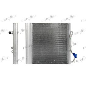 Kondensator, Klimaanlage Netzmaße: 380 x 330 x 20 mm, Kältemittel: R 134a mit OEM-Nummer 000 163 2V00 3