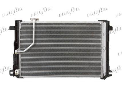 FRIGAIR  0806.2083 Kondensator, Klimaanlage Netzmaße: 645 x 415 x 16 mm, Kältemittel: R 134a