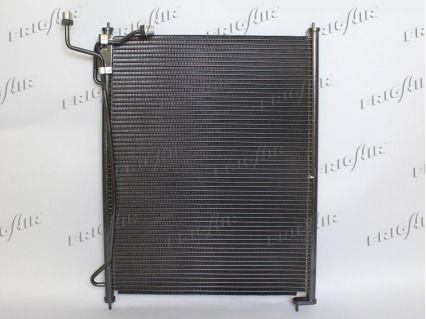 FRIGAIR  0806.2088 Kondensator, Klimaanlage Netzmaße: 460 x 610 x 22 mm, Kältemittel: R 134a