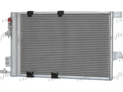 FRIGAIR  0807.2010 Kondensator, Klimaanlage Netzmaße: 540 x 380 x 16 mm, Kältemittel: R 134a