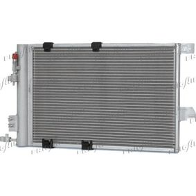 Kondensator, Klimaanlage Netzmaße: 540 x 380 x 16 mm, Kältemittel: R 134a mit OEM-Nummer 9 118 897
