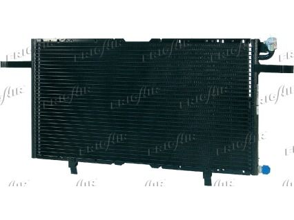 FRIGAIR  0807.2014 Kondensator, Klimaanlage Netzmaße: 577 x 308 x 16 mm, Kältemittel: R 134a