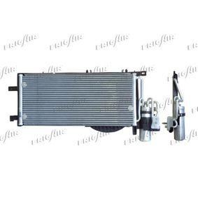 Kondensator, Klimaanlage Netzmaße: 540 x 260 x 16 mm, Kältemittel: R 134a mit OEM-Nummer 13 140 750