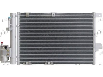 FRIGAIR  0807.2041 Kondensator, Klimaanlage Netzmaße: 540 x 380 x 16 mm, Kältemittel: R 134a