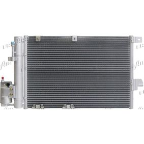 Kondensator, Klimaanlage Netzmaße: 540 x 380 x 16 mm, Kältemittel: R 134a mit OEM-Nummer 9118897