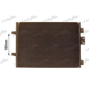 Kondensator, Klimaanlage 0809.3038 CLIO 2 (BB0/1/2, CB0/1/2) 1.5 dCi Bj 2014