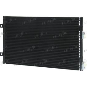 Kondensator, Klimaanlage Netzmaße: 535 x 350 x 22 mm, Kältemittel: R 134a mit OEM-Nummer 5017 405AA