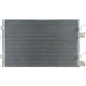 Kondensator, Klimaanlage Netzmaße: 535 x 350 x 16 mm, Kältemittel: R 134a mit OEM-Nummer 5093598AA