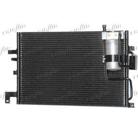 Kondensator, Klimaanlage Netzmaße: 505 x 348 x 16 mm, Kältemittel: R 134a mit OEM-Nummer 4758637
