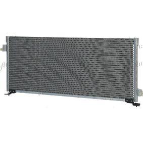 Kondensator, Klimaanlage Netzmaße: 690 x 300 x 20 mm, Kältemittel: R 134a mit OEM-Nummer 73210AC050