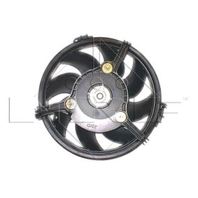 NRF Lüfter, Motorkühlung 47385 für AUDI A6 (4B2, C5) 2.4 ab Baujahr 07.1998, 136 PS