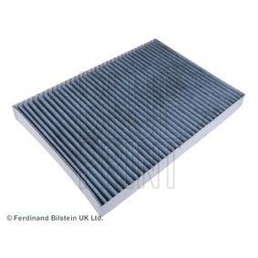 Filter, Innenraumluft Länge: 310mm, Breite: 212,5mm, Höhe: 30mm mit OEM-Nummer 04596501 AC