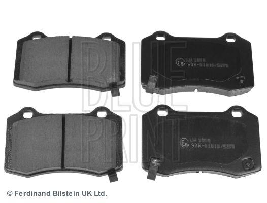 BLUE PRINT  ADA104206 Bremsbelagsatz, Scheibenbremse Breite: 69,1mm, Dicke/Stärke 1: 14,6mm