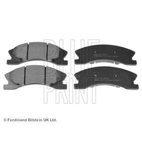 Bremsbelagsatz, Scheibenbremse Breite: 60,2mm, Dicke/Stärke 1: 18,7mm mit OEM-Nummer 5093260AA