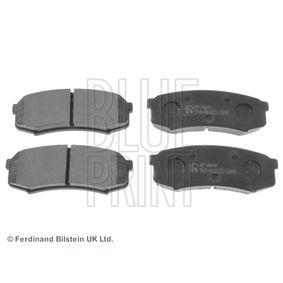 Bremsbelagsatz, Scheibenbremse Breite: 44,1mm, Dicke/Stärke 1: 15,5mm mit OEM-Nummer 4605A458