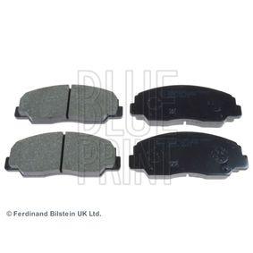BLUE PRINT  ADD64210 Bremsbelagsatz, Scheibenbremse Breite: 53,0mm, Dicke/Stärke 1: 13,8mm