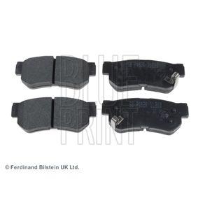 BLUE PRINT  ADD64221 Bremsbelagsatz, Scheibenbremse Breite: 45,3mm, Dicke/Stärke 1: 14mm