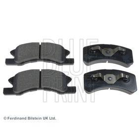 BLUE PRINT  ADD64232 Bremsbelagsatz, Scheibenbremse Breite: 44,2mm, Dicke/Stärke 1: 15mm
