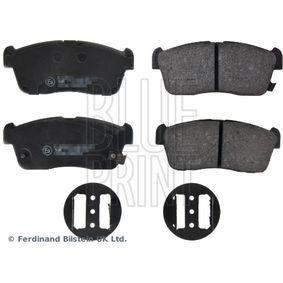 Bremsbelagsatz, Scheibenbremse ADD64233 Cuore 6 (L251, L250_, L260_) 1.0 Bj 2004