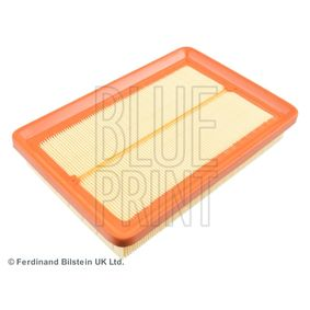 Air Filter Length: 253mm, Width: 174,0mm, Height: 40mm, Length: 253mm with OEM Number 281132D000