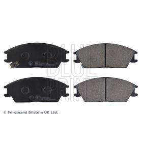 Bremsbelagsatz, Scheibenbremse Breite: 49,0mm, Dicke/Stärke 1: 14,5mm mit OEM-Nummer 58101-24B00