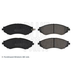 Комплект спирачно феродо, дискови спирачки ширина: 51,4мм, дебелина 1: 17мм с ОЕМ-номер 1104 6948 322
