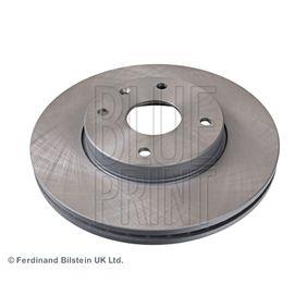 Bremsscheibe Bremsscheibendicke: 24mm, Ø: 278,0mm mit OEM-Nummer 96329364