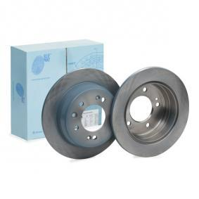 Brake Disc Brake Disc Thickness: 10mm, Ø: 262,0mm with OEM Number 584111H300