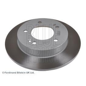 Bremsscheibe Bremsscheibendicke: 10mm, Ø: 258,0mm mit OEM-Nummer 58411 1P300