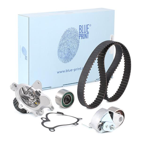 Bomba de Agua + Kit Correa Distribución BLUE PRINT ADG073750 conocimiento experto