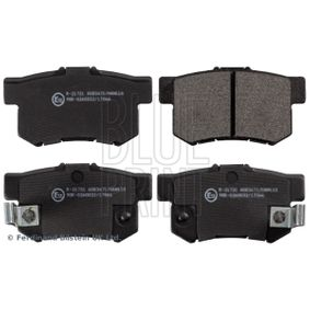 Brake Pad Set, disc brake Width: 47,0mm, Thickness 1: 14,5mm with OEM Number 06430-S9A-A00