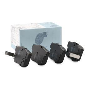 BLUE PRINT  ADH24250 Brake Pad Set, disc brake Width: 47,4mm, Thickness 1: 14,6mm