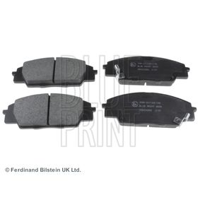 Brake Pad Set, disc brake Width: 52,5mm, Thickness 1: 16mm with OEM Number 45022-S2AE-50