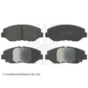 BLUE PRINT  ADH24265 Brake Pad Set, disc brake Width: 56,5mm, Thickness 1: 16,9mm