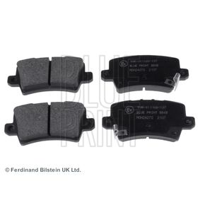 Brake Pad Set, disc brake ADH24272 CIVIC 8 Hatchback (FN, FK) 2.0 i-VTEC Type R (FN2) MY 2010