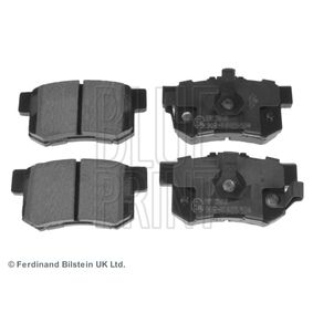 2004 Honda CR-V Mk2 2.0 Brake Pad Set, disc brake ADH24280