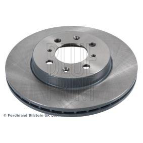 Bremsscheibe Bremsscheibendicke: 21mm, Ø: 262,0mm mit OEM-Nummer 45251-SR0A10