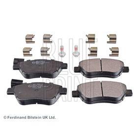 Bremsbelagsatz, Scheibenbremse Breite: 53,1mm, Dicke/Stärke 1: 17mm mit OEM-Nummer 7 736 6528